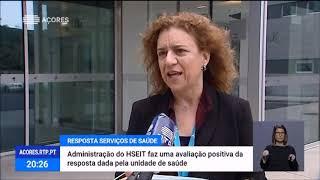 19/05: Hospital da Terceira com boa resposta ao COVID-19