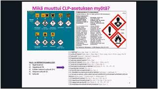 Anu Matilainen - REACH- ja CLP-asetukset 4 9 2017
