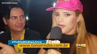GRAVAÇÃO DO PROGRAMA ARENA SERTANEJA NA TV   BATISTA ALENCAR POR SARA RODRIGUES TONAMIDIALIVE