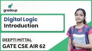 Digital Logic Design for GATE CSE 2019  Lecture, Basics, Syllabus, Book