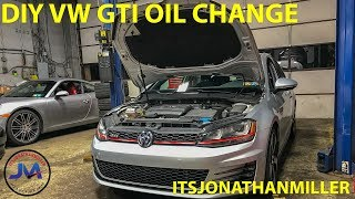 NEW YOUTUBE VIDEO-VW GTI DIY OIL CHANGE AND PORSCHE SPECIALIST TOUR