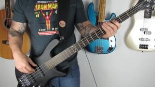 Ozzy Osbourne - Bark At The Moon - Bass Cover (HD)