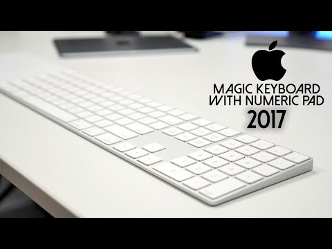 Обзор Apple Magic Keyboard (with Numeric Keypad, white/silver, ENG/RUS, MQ052RS/A)