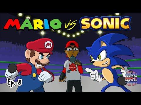 Mario Vs Sonic -  Cartoon Beatbox Battles