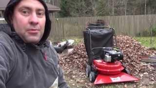 Садовый пылесос: обзор видео