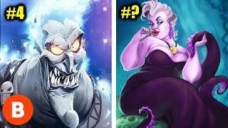 Disney's Most Powerful Monsters Ever Ranked