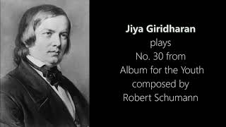 Jiya G. Album for the Youth # 30 - R. Schumann