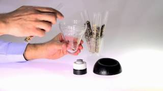 How to grind your favorite spices with finum's LOOK TOUCH TASTE