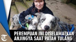 Perempuan Ini Diselamatkan oleh Anjing Peliharaan saat Alami Patah Tulang