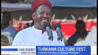 Raila: Nobody chased Governor Nanok out of ODM, he left on his own volition