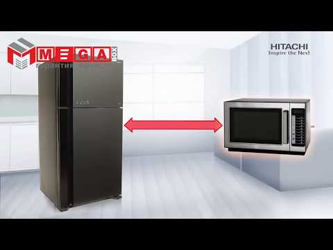 Холодильник Hitachi R-V470PUC8BSL Video #1