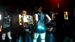 Tridevils !!! DJ Galuh Lee,velline chu (live pa),Rica natasya (violin)