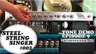 Steel String Singer #002 Build   Episode 9: John Mayer & SRV Tone Demo!