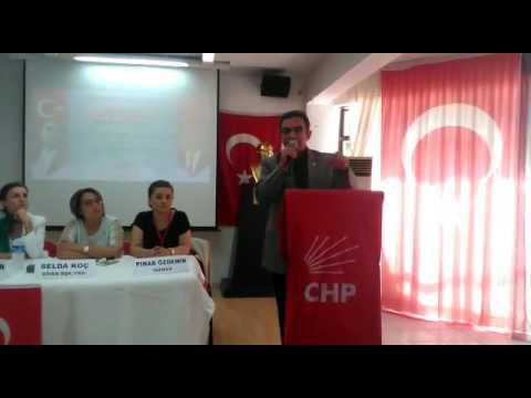 Budak, CHP Muratpaşa Olağanüstü Kongresi'nde