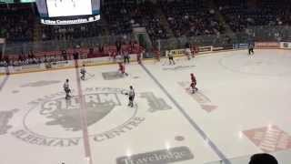 preview picture of video 'Blake Speers vs Guelph Storm'
