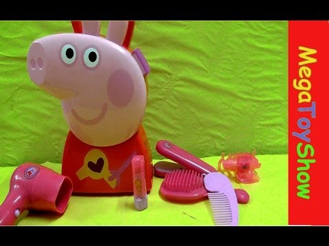 Peppa pig hair case [Peppa pig full english toy episodes]