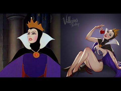 9 Villanas de Disney si Fueran para Adultos