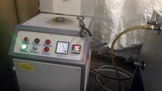 INDUCTION GOLD MELTER WITH WATER CHILLER UNIT