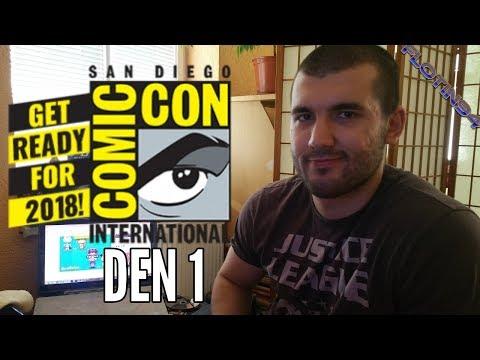 Shrnutí San Diego Comic Con 2018 DEN 1