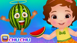 Watermelon Song (SINGLE) | Learn Fruits for Kids | Educational Songs & Nursery Rhymes | ChuChu TV