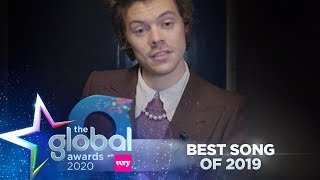 Harry Styles Wins 'Best Song Of 2019' At The Global Awards | Capital