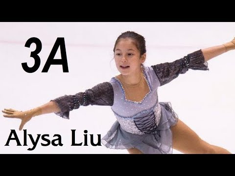 Alysa LIU (13) - 3A (SP, US Nats 2019)