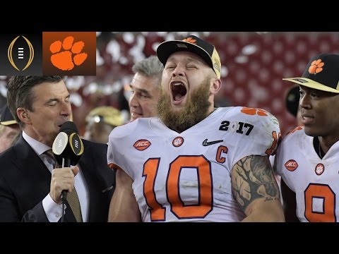 Ben Boulware: 'Disrespectful' To Ask About Shaving Beard   Inside The National Championship