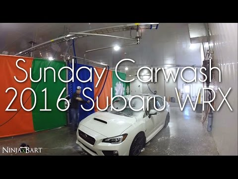 Sunday carwash, Ez-Oil valve, and CG Leather scent review