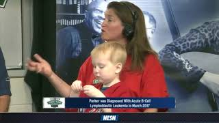 WEEI/NESN Jimmy Fund Radio-Telethon: Parker Sullivan