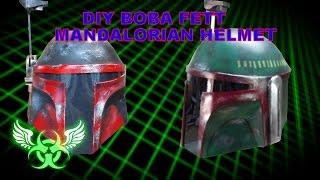 DIY BOBA FETT MANDALORIAN HELMET E17