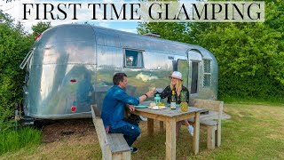 OUR FIRST TIME GLAMPING | BEAUTIFUL COTSWOLDS | ENGLISH COUNTRYSIDE