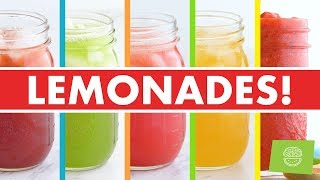 Healthy Homemade Lemonades, Iced Teas + Popsicles for Summer Recipes!  - Mind Over Munch