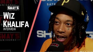 Sway's Universe - Wiz Khalifa Plays Weed Trivia, Demonstrates Martial Arts and Talks Rolling Papers 2