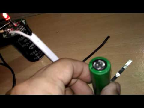 DIY Battery operated Spot Weld using Super Capacitor