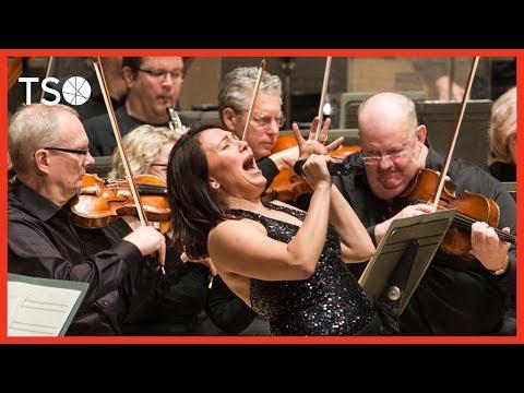 Tanya Tagaq/Christine Duncan/Jean Martin: Qiksaaktuq / André de Ridder · Toronto Symphony Orchestra online metal music video by TANYA TAGAQ