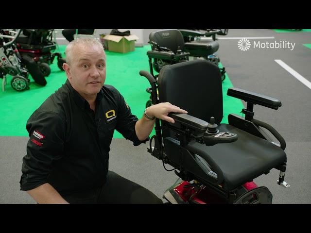 Quantum Kozmo Small Power Chair Video