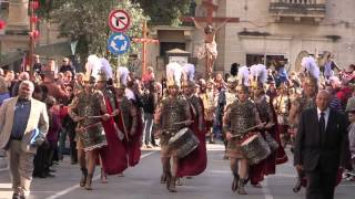 preview picture of video 'Good Friday Procession - Zebbug, Malta'