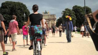 preview picture of video 'Passeio de bike em Paris'