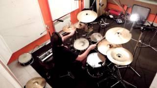 Video Dzidoš - The Matrones - Breaking Back (drum cam) 2016