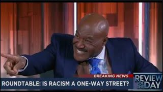 Delroy Lindo dares white news reporter to say the N-word