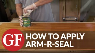 HOW TO APPLY ARM-R-SEAL URETHANE TOPCOAT | General Finishes