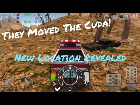 Offroad Outlaws V. 2.0.0 Hemi Cuda New Location Revealed
