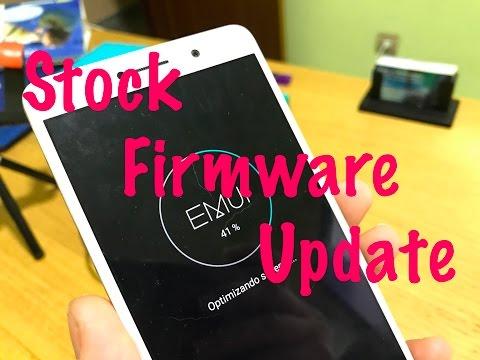 How To Actualizar Stock Firmware De Forma Manual En Huawei
