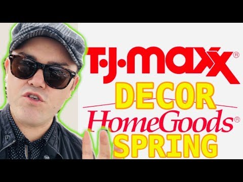 HomeGoods Spring Home Decor 2019  And Moving Furniture Around