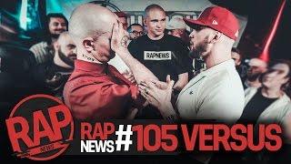 RapNews #105 [Oxxxymiron vs. ST, Ларин vs. Соболев, SLOVOSPB vs. VERSUS]