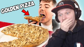 Frizzable reacts to I Ate A $70,000 Golden Pizza