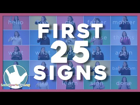 25 ASL Signs You Need to Know | ASL Basics | American Sign Language for Beginners