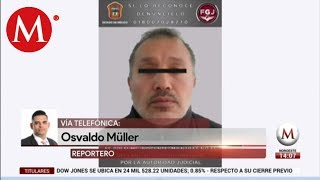 Fiscalía detiene a presunto asesino de Giselle