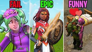 LOVE on the Battlefield! FAILS vs EPIC vs FUNNY! Fortnite Battle Royale Funny Moments