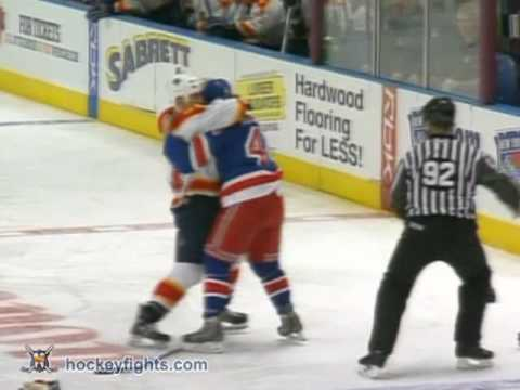 Ryan Hollweg vs. Steve Montador